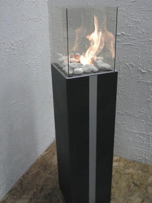 kamin mit bioethanol 100 biologisch. Black Bedroom Furniture Sets. Home Design Ideas